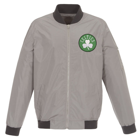 Boston Celtics Nylon Bomber Jacket