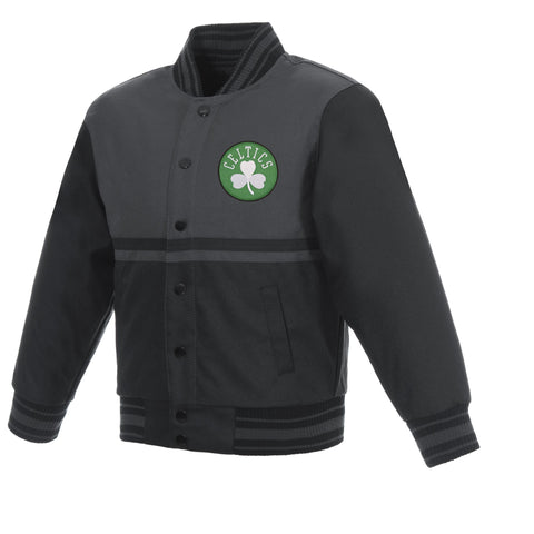 Boston Celtics Kids Poly-Twill Jacket