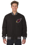 Arizona Cardinals All-Wool Reversible Jacket (Front Logos Only)