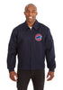CHICAGO CUBS COTTON TWILL WORKWEAR JACKET - NAVY
