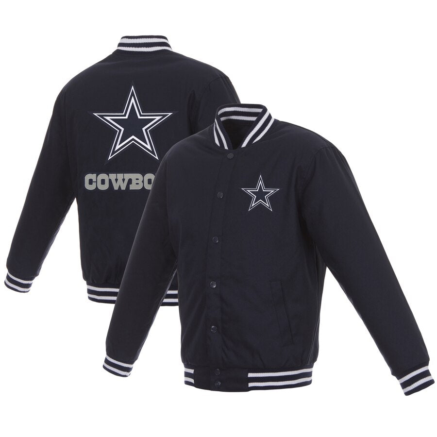 Dallas Cowboys Poly-Twill Jacket