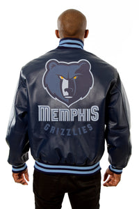 Memphis Grizzlies Full Leather Jacket