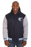 Memphis Grizzlies Reversible Poly-Twill Jacket