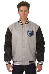 Memphis Grizzlies Poly-Twill Jacket (Front Logo Only)