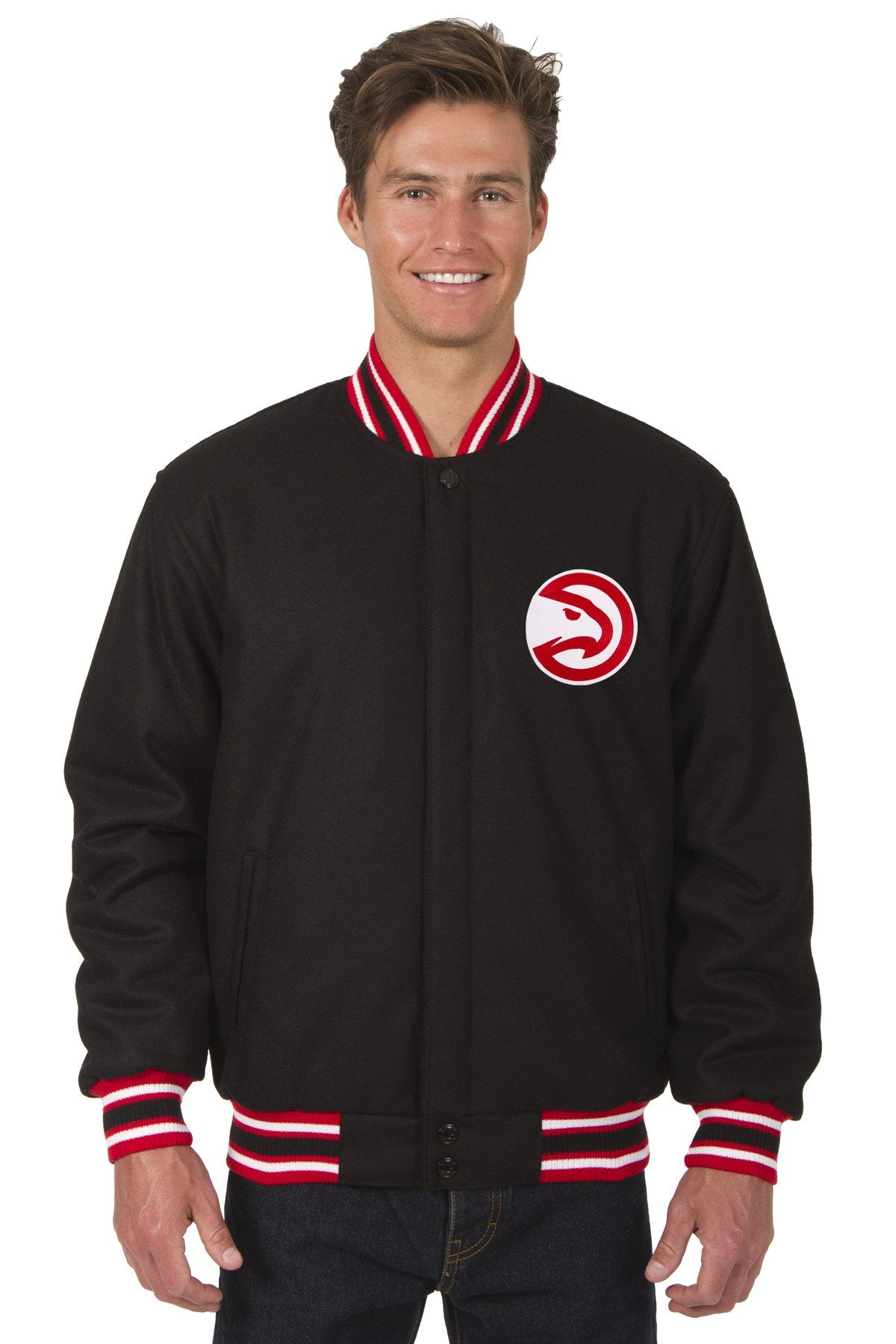 Atlanta Hawks Reversible All-Wool Jacket