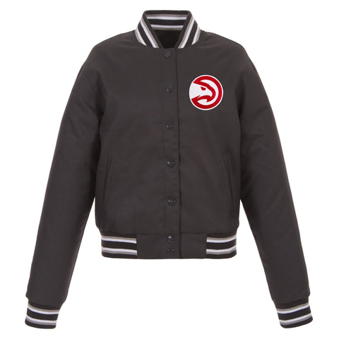 Atlanta Hawks Ladies Poly-Twill Jacket