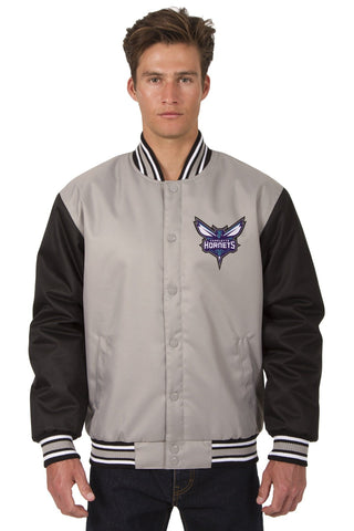 Charlotte Hornets Poly-Twill Jacket