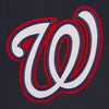WASHINGTON NATIONALS REVERSIBLE WOOL JACKET - NAVY