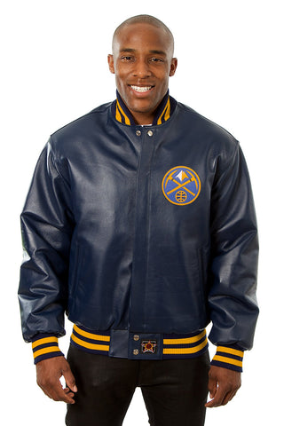 Denver Nuggets Full Leather Jacket