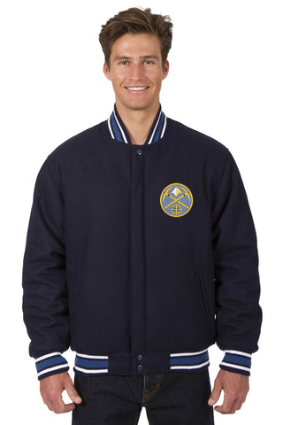 Denver Nuggets Reversible All-Wool Jacket
