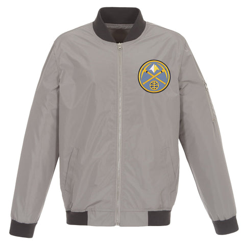 Denver Nuggets Nylon Bomber Jacket