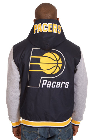 Indiana Pacers Reversible Poly-Twill Jacket