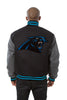 Carolina Panthers Embroidered Wool Jacket