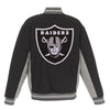 Las Vegas Raiders Reversible Wool Jacket