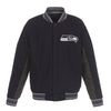 Seattle Seahawks Reversible Wool Jacket