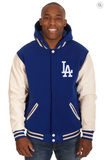 Los Angeles Dodgers Reversible Fleece Hoody