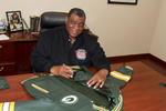 Dave Robinson- Green bay Packer, Wool Varsity