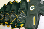 Marv Fleming- Green bay Packers, Leather Team Jacket
