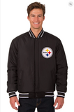 Pittsburgh Steelers Reversible Wool Varsity Jacket