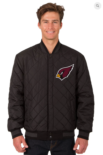 Arizona Cardinals Reversible Wool & Leather Varsity Jacket