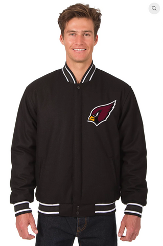 Arizona Cardinals Wool Reversible Varsity Jacket