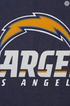Los Angeles Chargers All Wool Two-Toned Jacket with Back Logo
