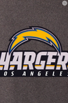 Los Angeles Chargers Wool & Leather Reversible Varsity Jacket with Back Logo
