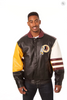 Washington Redskins Hand Crafted Leather Classic Jacket