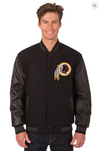 Washington Redskins Reversible Varsity Jacket with Back Logo