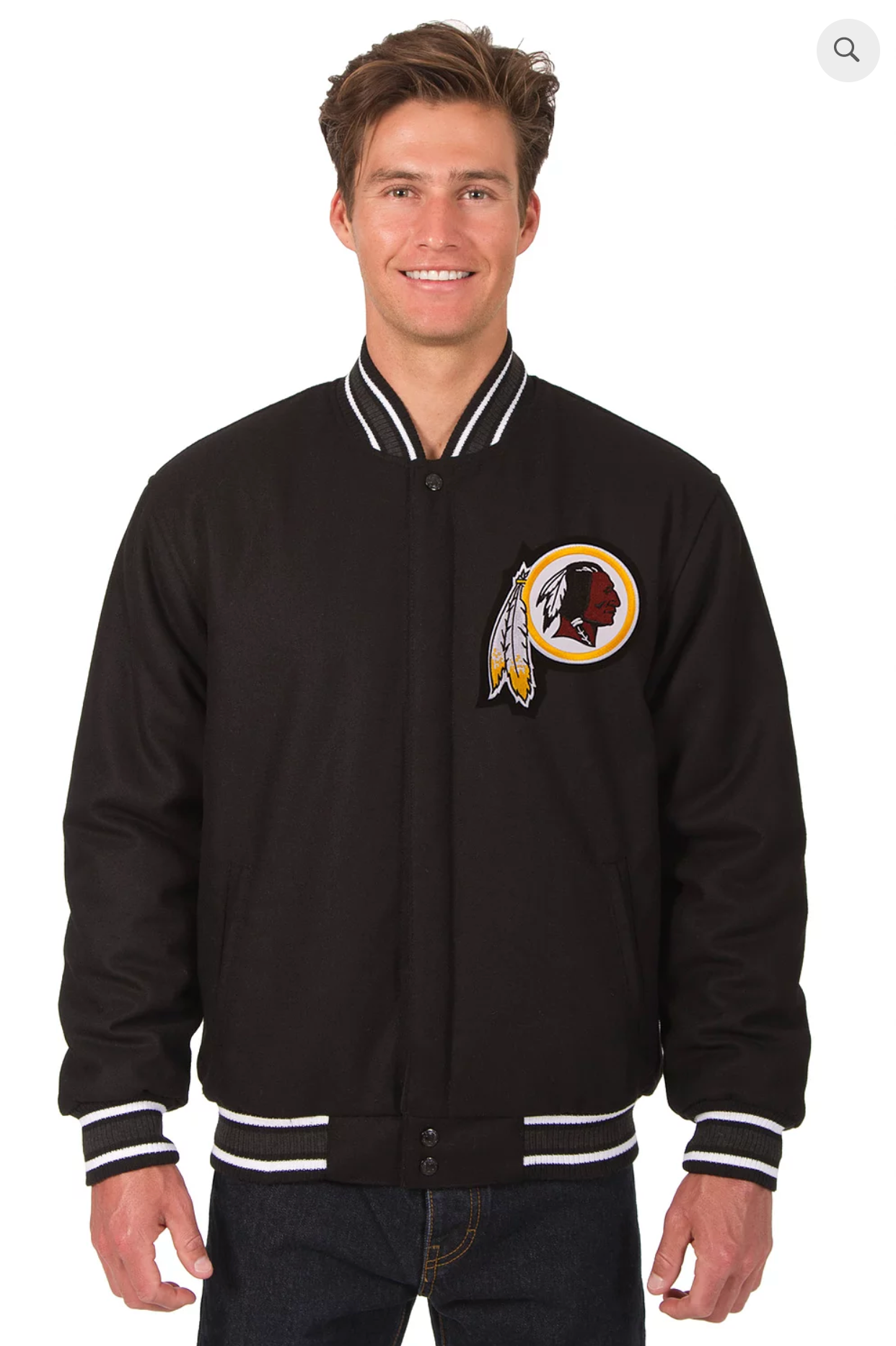 Washington Redskins Reversible Varsity Jacket