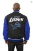 Detroit Lions All Wool Two-Toned Jacket with Back Logo