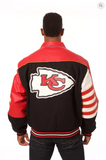 Kansas City Chiefs Wool and Leather Classic Jacket