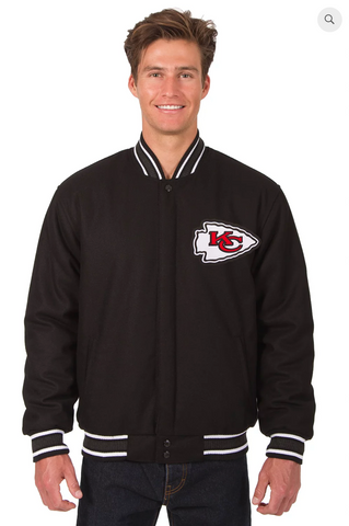 Kansas City Chiefs Reversible Wool Varsity Jacket