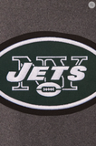 New York Jets Reversible Wool & Leather Varsity Jacket