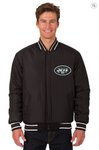 New York Jets Reversible Wool Varsity Jacket