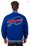 Buffalo Bills Reversible Wool Varsity Jacket With Back Logo