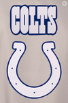 Indianapolis Colts Poly-Twill Varsity with Front & Back Logo