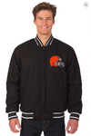 Cleveland Browns Reversible Wool Varsity Jacket