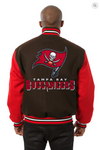 Tampa Bay Buccaneers All Wool Two-Toned Jacket with Back Logo