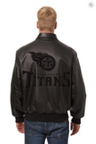 Tennessee Titans Hand Crafted Leather Tonal Jacket