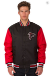 Atlanta Falcons Poly-Twill Varsity Jacket with Front Logo