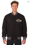 Baltimore Ravens Reversible Wool Varsity Jacket