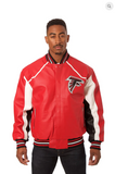 Atlanta Falcons Hand Crafted Leather Team Jacket