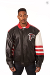 Atlanta Falcons Hand Crafted Leather Classic Jacket