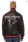 Atlanta Falcons Hand Crafted Leather Solid Team Jacket