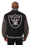 Las Vegas Raiders Embroidered Wool Jacket