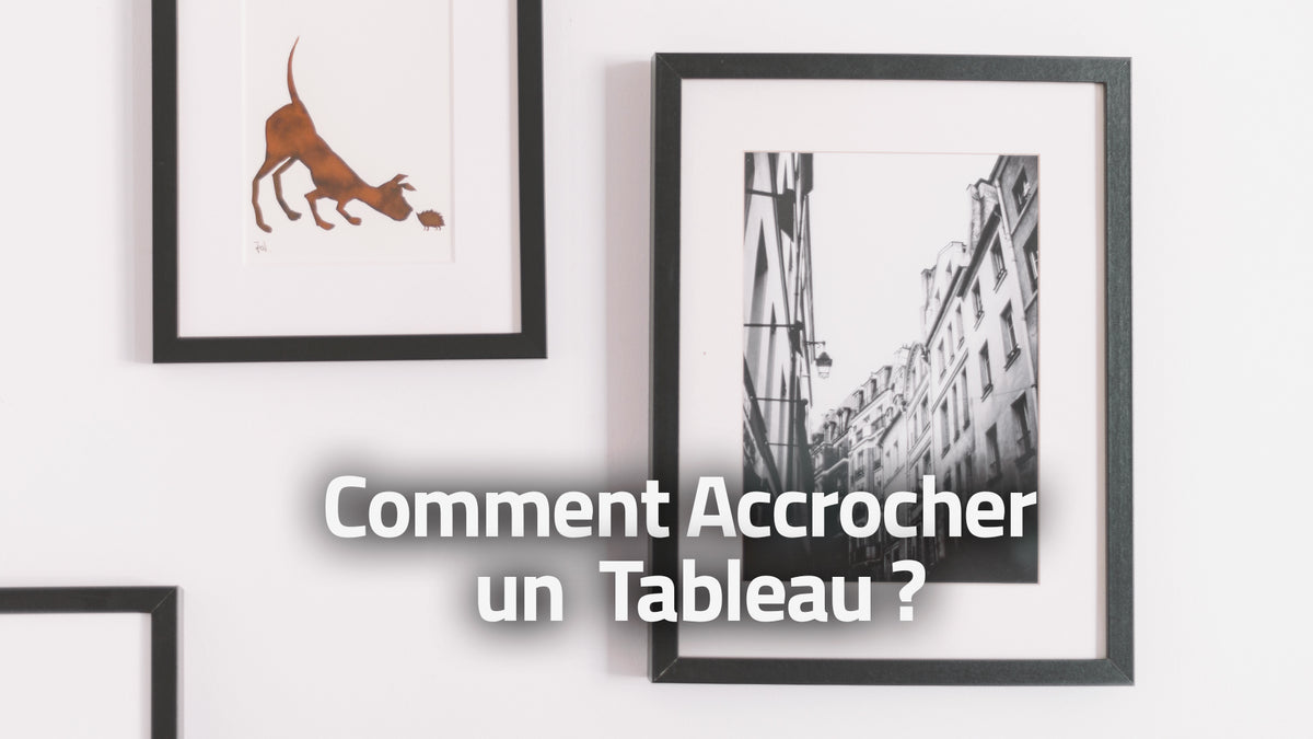 Accrocher Une Toile Sans Percer comment accrocher un tableau facilement ? – super support