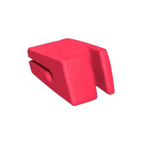 Repose Cuillère Silicone rouge