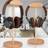 Support Casque en Bois design