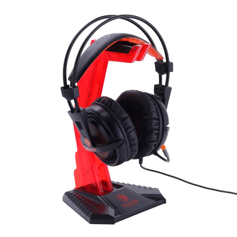 Support Casque PC rouge